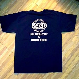🇺🇸 DARE T SHIRT  San Diego police against drugs